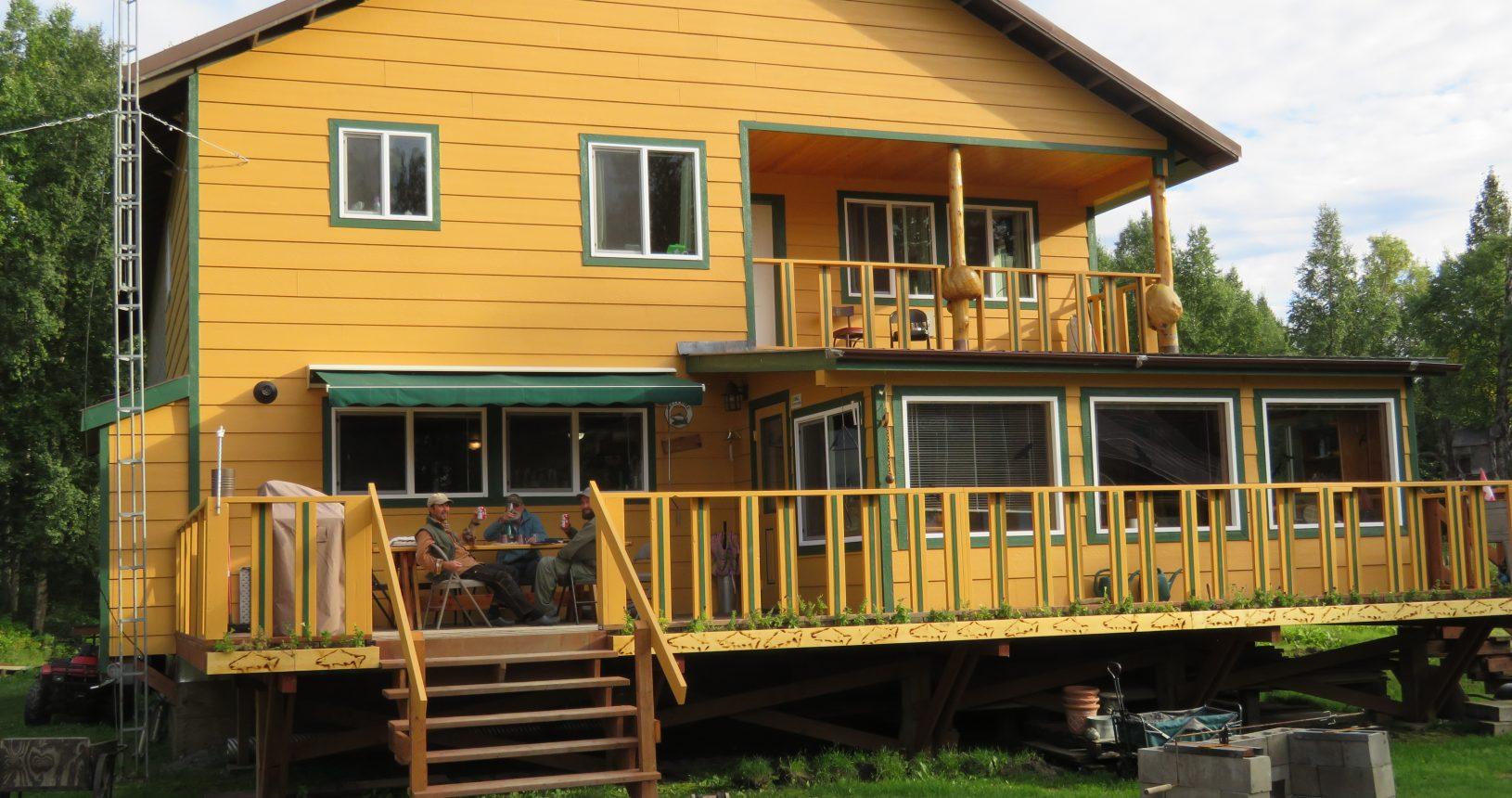 Main lodge 2 Lake Creek fishing Lodge Alaska